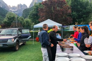 BIKE Women Camp Pasta Party