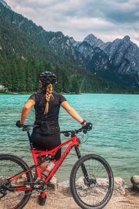 Mountainbiken_Toblach_Toblacher_See