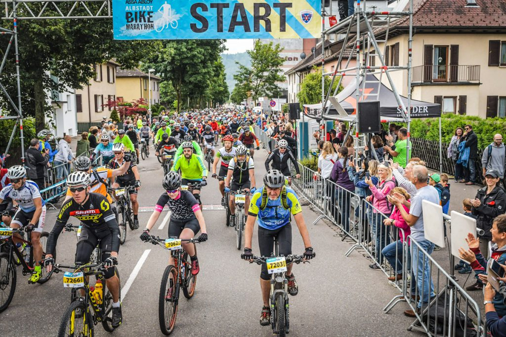 Start Albstadt Bike Marathon