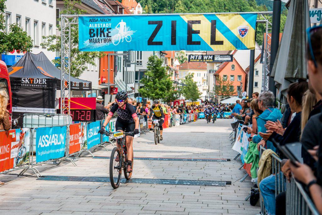 Ziel Albstadt Bike Marathon
