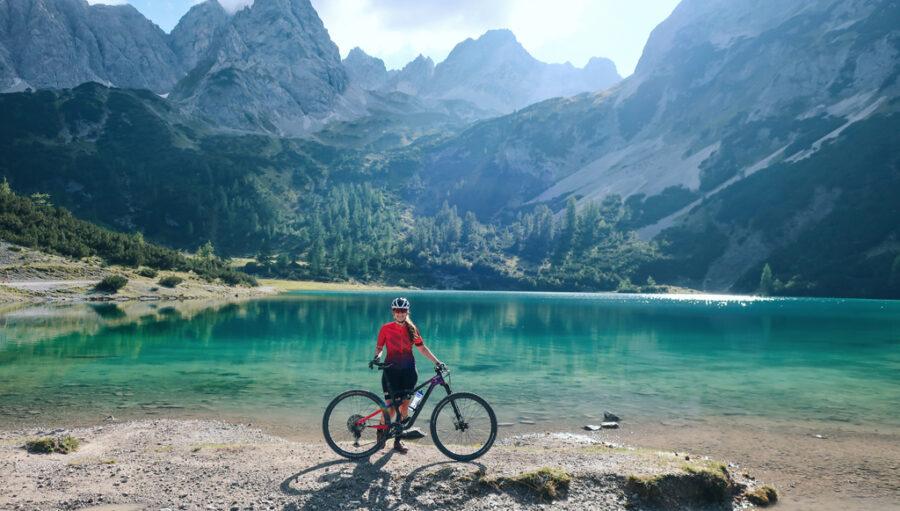 Mountainbiken in der Tiroler Zugspitz Arena